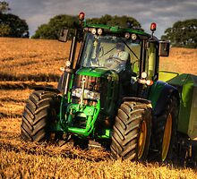 Tractor and the Baler by Rob Hawkins
