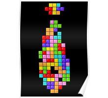 Tetris Tie Poster