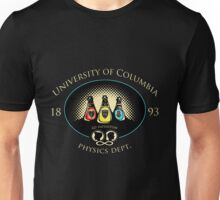 University of Columbia: Physics Department Unisex T-Shirt
