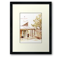 Old Post Office, Pinos Altos, New Mexico Framed Print