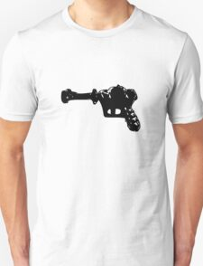 Alien Ray Gun - Black T-Shirt