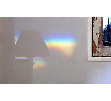 Indoor Rainbow Photographic Print