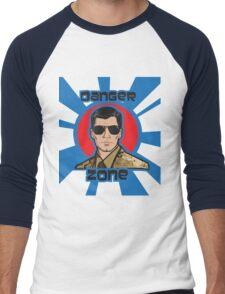 You Better Call Kenny Loggins - Military Uniform Version Men's Baseball ¾ T-Shirt