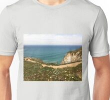 At the edge of the world Unisex T-Shirt