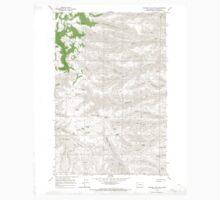 USGS Topo Map Washington State WA Whiskey Dick Mtn 244642 1966 24000 One Piece - Long Sleeve