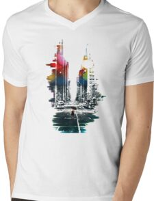 The Ambient Resolution Mens V-Neck T-Shirt