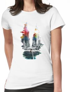 The Ambient Resolution Womens Fitted T-Shirt