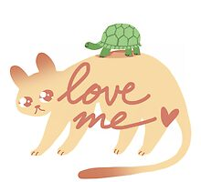 Cougar & Turtle: Love me by Angomango