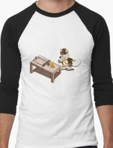 Raiders of the Lost Sharp Men's Baseball ¾ T-Shirt