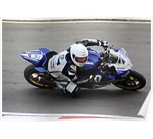 Billy McConnell - CAME Yamaha Poster