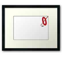 Lebowski Mark It Zero Framed Print