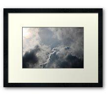 Helios' journey Framed Print