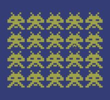 PIXEL8 | Space Invaders Classic Error Message by 8eye