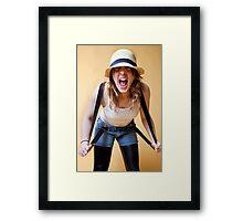 Scream Framed Print