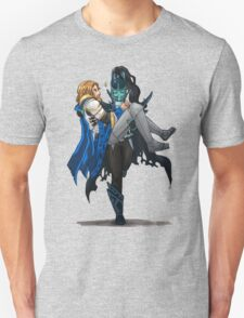 Phantom Assassin & Omniknight Dota 2 T-Shirt