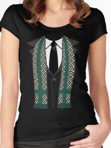 God of Mischief in disguise Women's Fitted Scoop T-Shirt