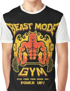 Beast Mode Gym Graphic T-Shirt