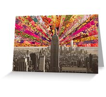 BLOOMING NY Greeting Card