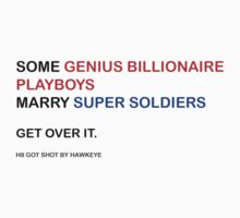 Some Genius Billionaire Playboys Marry Super Soldiers. by samfulism