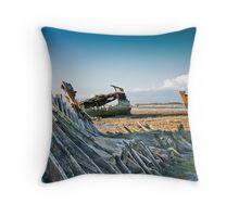 Trawlers' Graveyard Throw Pillow