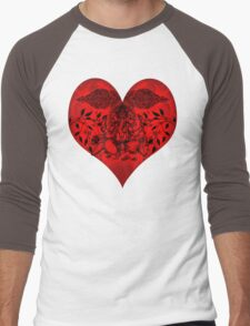 INDIANHEART Men's Baseball ¾ T-Shirt