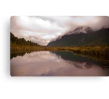 Mirror Lake Reflections Canvas Print