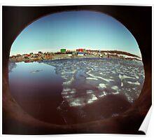 Mawson base, Antarctica Poster