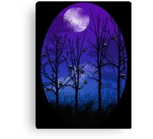 OWLMOON Canvas Print