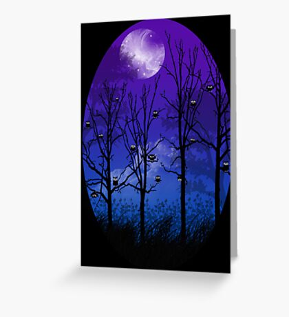 OWLMOON Greeting Card
