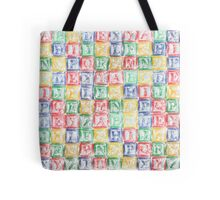 Children's Blocks Tote Bag