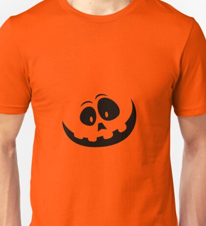 Goofy Orange Halloween Jack O'Lantern Costume Unisex T-Shirt