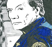 Battlestar Galactica Admiral Adama Comic Book Image by chrisjh2210