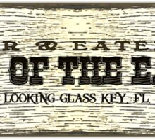 Ends of the Earth Sticker