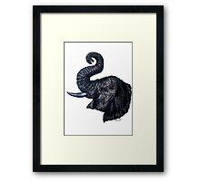 """Loxodonta""- The African Elephant Framed Print"