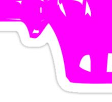 Alien Ray Gun - Pink Sticker