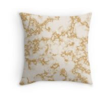 Classic Marble Pattern Background Throw Pillow