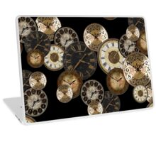 Clockwork Black Laptop Skin
