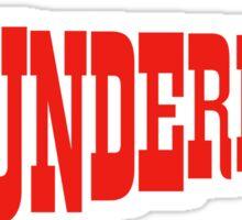 Thunderbirds Sticker