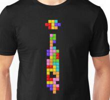 Tetris Thin Tie Unisex T-Shirt