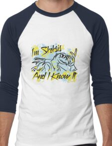 Skesis And I Know It Men's Baseball ¾ T-Shirt