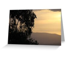 Afternoon Hills Greeting Card