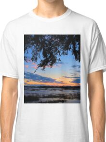 Beaufort Harbor Sunset Classic T-Shirt