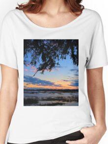 Beaufort Harbor Sunset Women's Relaxed Fit T-Shirt