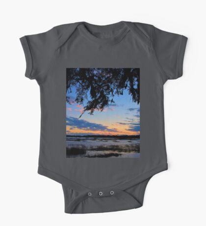 Beaufort Harbor Sunset One Piece - Short Sleeve