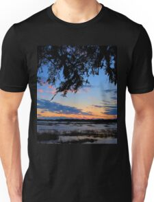 Beaufort Harbor Sunset Unisex T-Shirt