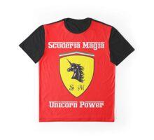 Scuderia Magia Unicorn Power! Graphic T-Shirt