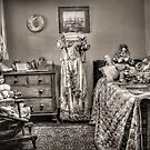 The Governess's Room ~ sepia by Rosalie Dale