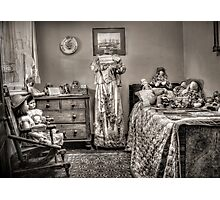 The Governess's Room ~ sepia Photographic Print