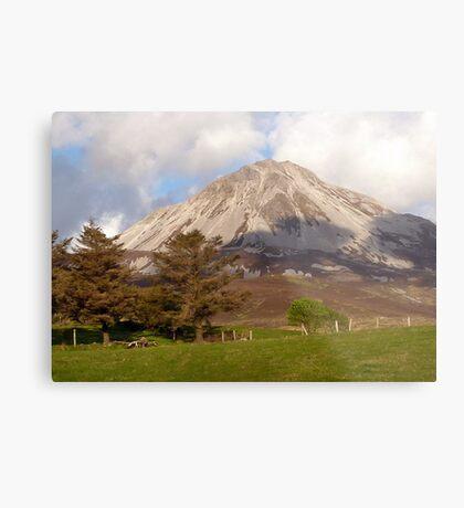 Mount Errigal Metal Print