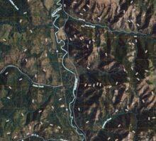 USGS Topo Map Washington State WA Louie Creek 20110413 TM Sticker